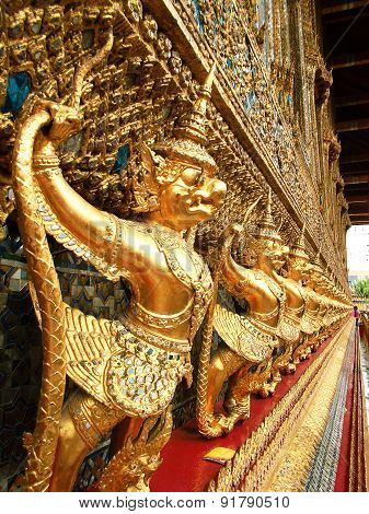Golden Garuda in Thailand