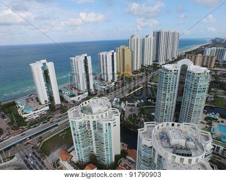 Sunny Isles Beach aerial image