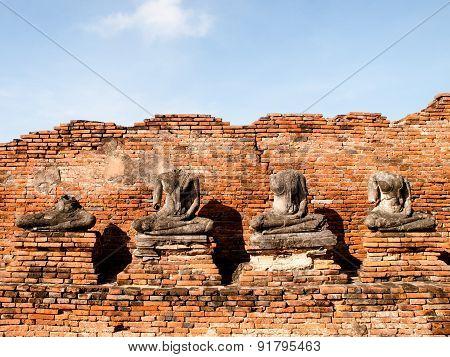 Broken Buddha Statue