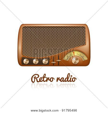 Retro Radio Illustration