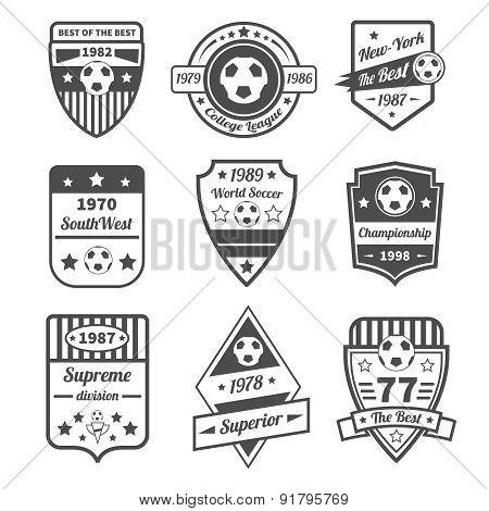 Soccer Label Set