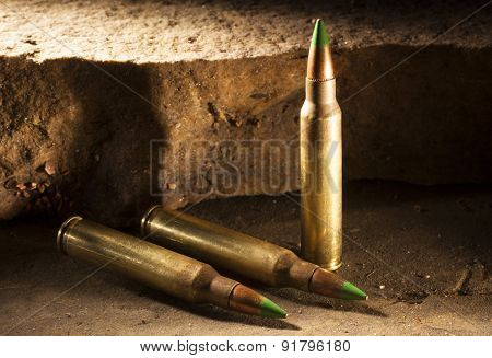 Three Armor Piercing Cartridges