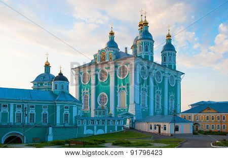 Assumption Cathedral in the evening