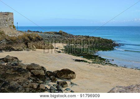 Beach At Saint Ives, Cornwall, England