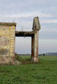 picture of raunchy  - Demolished and destroyed the old abandoned castle - JPG