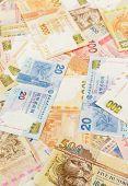 picture of twenty dollar bill  - Hong Kong dollar bill - JPG