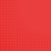 image of triangular pyramids  - Abstract background with red triangular shape gradient - JPG