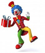 foto of clowns  - Fun clown - JPG