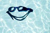 Постер, плакат: Радость плавание большая улыбка