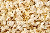 foto of texture  - Popcorn - JPG