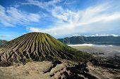 picture of bromo  - Batok volcano on East Java Indonesia  - JPG