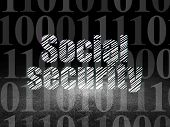 pic of social-security  - Safety concept - JPG