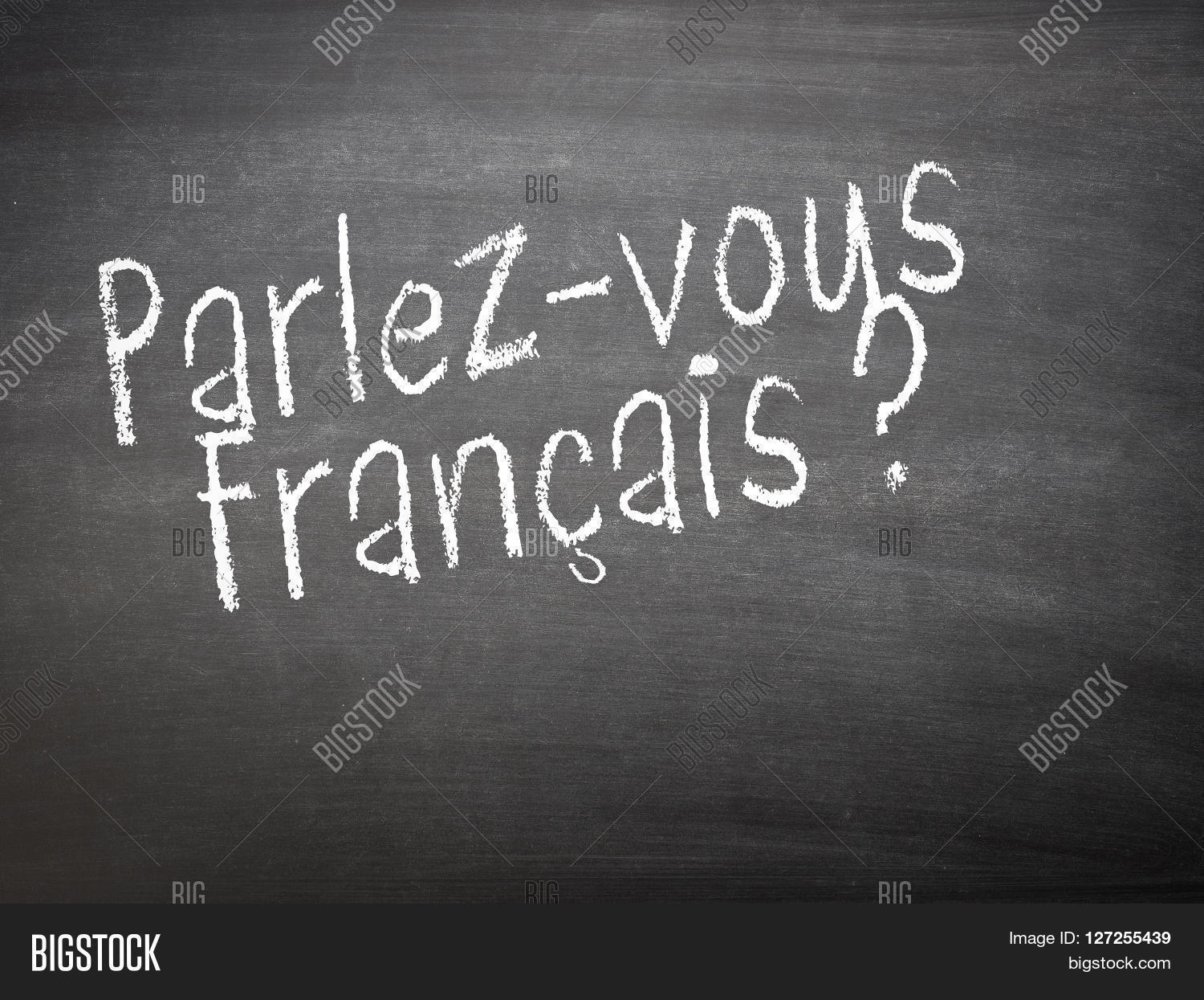 Learning language - French. Learning French language concept of ...