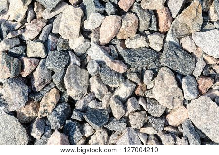 Abstract Texture Of The Stones
