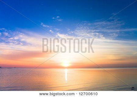 Nascer do sol nasce