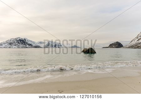 Haukland Beach - Lofoten Islands, Norway