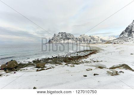 Utakliev Beach, Lofoten Islands, Norway