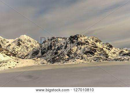 Vikvatnet, Lofoten Islands, Norway
