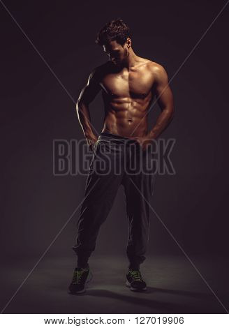 Athletic Handsome Man
