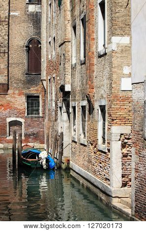 An Urban scenic of Venice in Italy