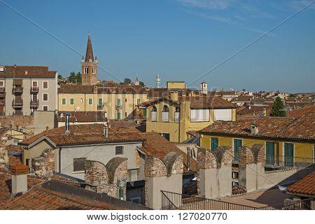 Verona, Italy, Sunny Summer Day