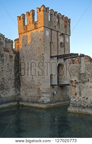 Castle Scaligero (sirmione Castle), Lake Garda