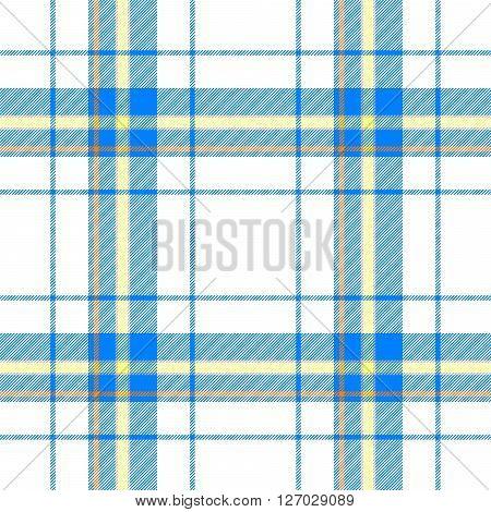 blue yellow orange check diamond tartan scot plaid fabric material seamless pattern texture background