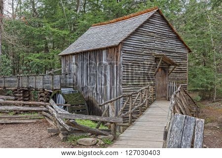 The John P. Cable Grist Mill At Cades Cove In The Great Smoky Mountains National Park