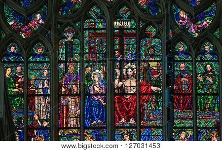Stained Glass - Last Judgment