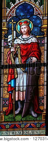 Stained Glass - Saint Wenceslas