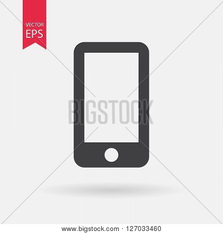 Cellphone Icon. Cellphone logo design isolated on white background. Vector illustration