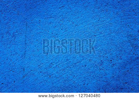 Blue Darken Wall Texture Grunge Background