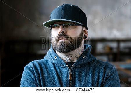 Portrait Of Urban Man