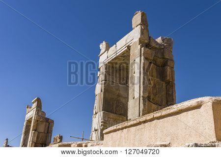 Ancient Ruins Of Persepolis, Iran