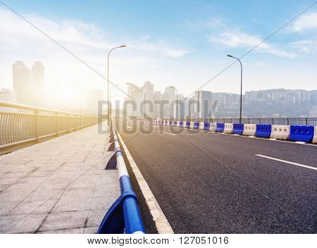 highway to chongqing incity,china