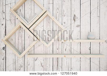 Creative Shelves Wood