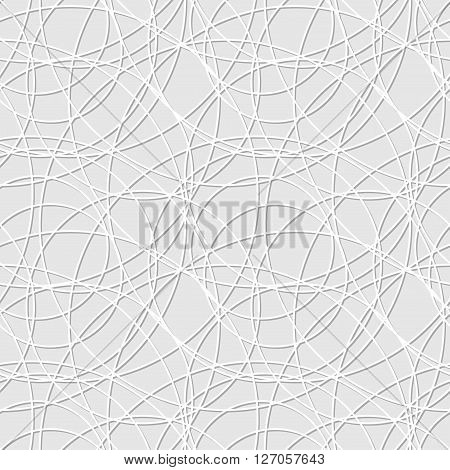 Seamless pattern of circles. Trendy texture. Endless stylish backdrop. Cloth design  wrapping