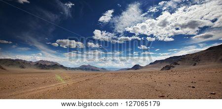 Mountains in Mongolia