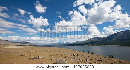 Khotton Lake in Mongolia