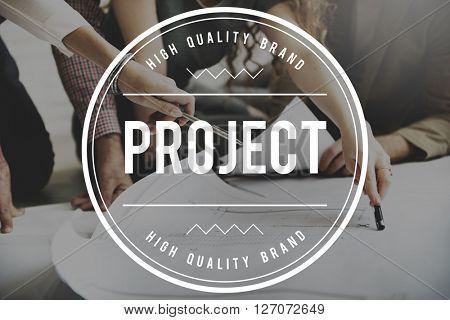 Project Enterprise Plan Strategy Task Estimate Concept