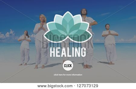 Healing Therapy Wellbeing Wellness Concept