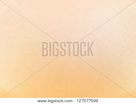 close up Cream colored leather texture background