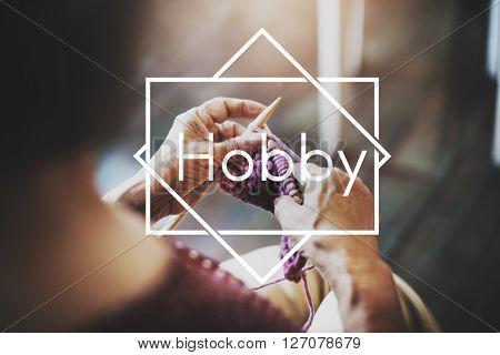Hobby Activity Leisure Pursuit Passion Pleasure Concept