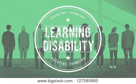 Learn Learning Disability Education Knowledge Concept