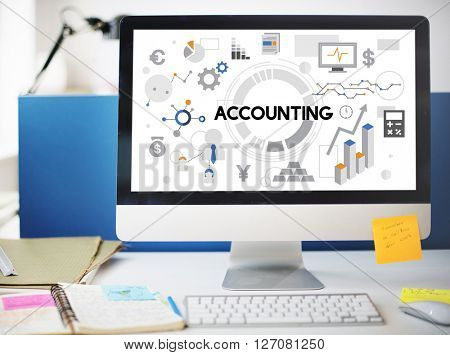 Accounting Auditing Bookkeeping Balance Finance Concept