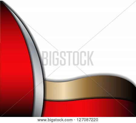 Vector abstract background. Overlap dimension modern line bar design for text and message. Template design.