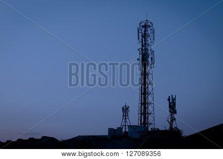 Radio Telecommunication Infrastructure Towers