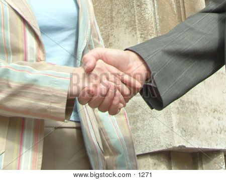 Shaking Hands poster