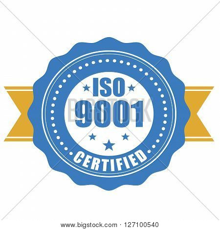 ISO 9001 certified - quality standard seal