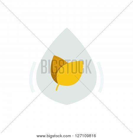 Flat Icon Herbal Medicine Liquid Drug Icon